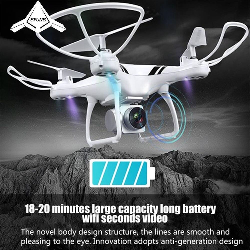 KY101S Drone rc avec Wifi FPV HD caméra réglable Maintien D'altitude Un Retour Key/D'atterrissage/Off Headless quadcopter rc Drone