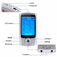 2017 High potential therapy machine electromagnetic wave therapy tens back ems device