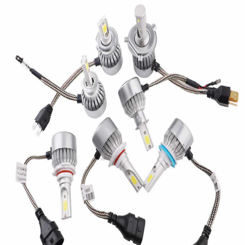 36W H1 h3 led bulb h4 led 12V h7 led H8 H11 13 9005 9006 9007 free shipping