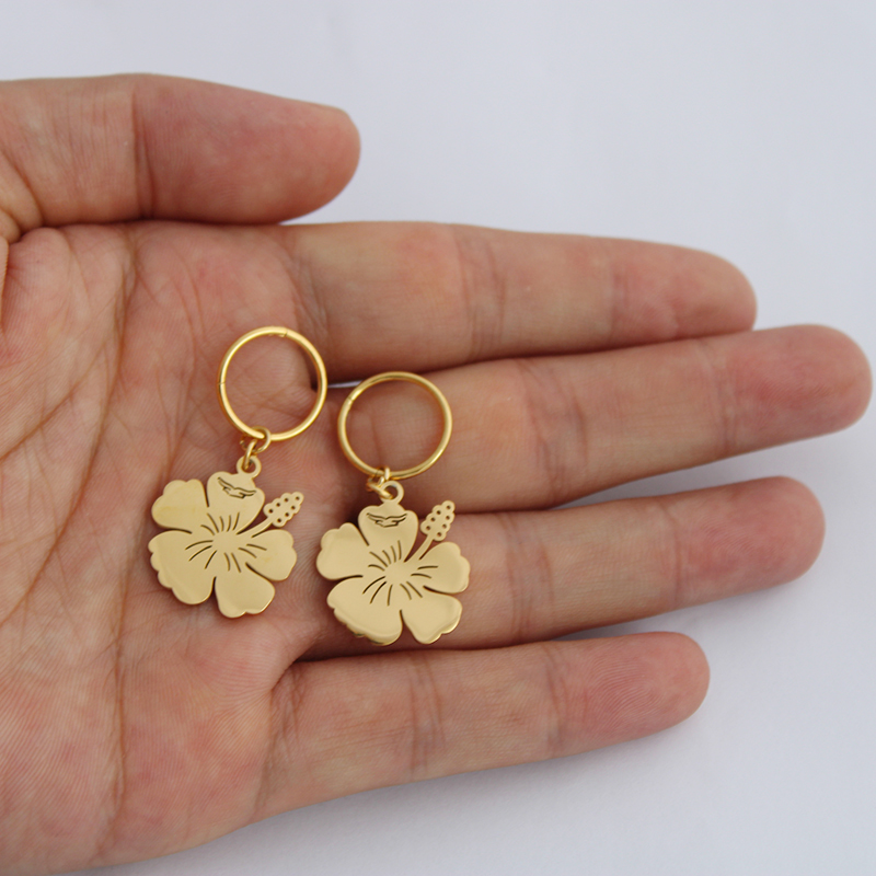 New Arrival Small Earrings For Women Girls Gold Color And Stainless Steel Kiribati Earring Island Style Jewelry GiftsNew Arrival Small Earrings For Women Girls Gold Color And Stainless Steel Kiribati Earring Island Style Jewelry Gifts