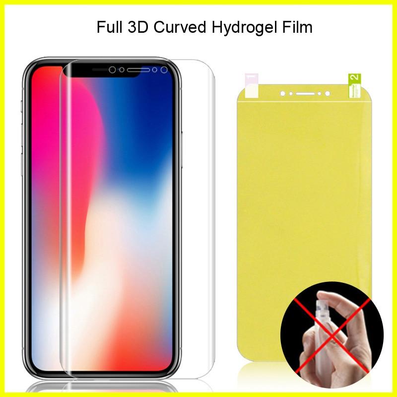 Full Coverage For Sony Xperia XA2 Plus Hydrogel Film Soft TPU Screen Protector For Sony Xperia XA2 Ultra Film