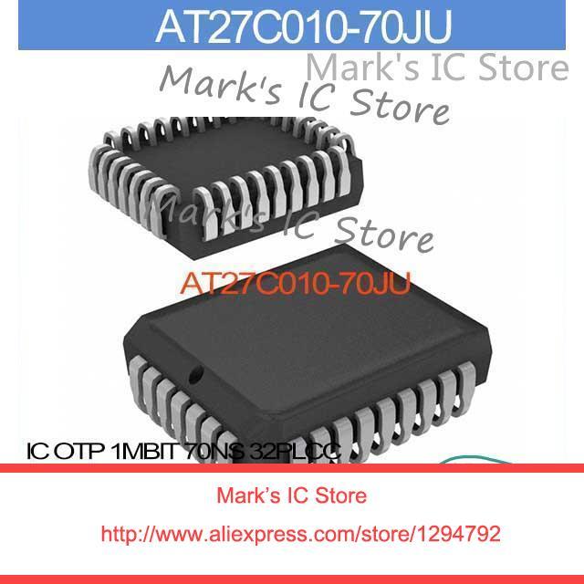 OTP 1MBIT Atmel at27c010-70ju con plcc-32