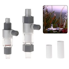CO2 Atomizer Diffuser External Reactor aquairum water plant Aquarium Fish Tank For 12/16mm 16/22mm SD-JQ(China)