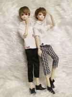 33cm bjd boy dolls reborn girls boys eyes High Quality toys makeup