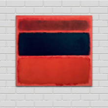 handpainted Mark Rothko Classical Oil Painting For Living Room Wall Art Canvas Decorative Pictures No Frame handpainted mark rothko classical oil painting for living room wall art canvas decorative pictures no frame