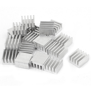 8.8*8.8*5mm Computer Cooler Radiator Aluminum Heatsink Heat Sink for Electronic Chip Heat Dissipation Cooling Pads Dropshipping
