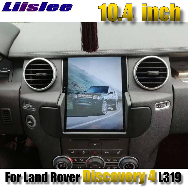 For Land Rover Discovery 4 L319 For Range Rover NAVI 2G RAM LiisLee Car Multimedia GPS WIFI Audio CarPlay Radio Navigation MAP our discovery island 4 audio cd 3 лцн