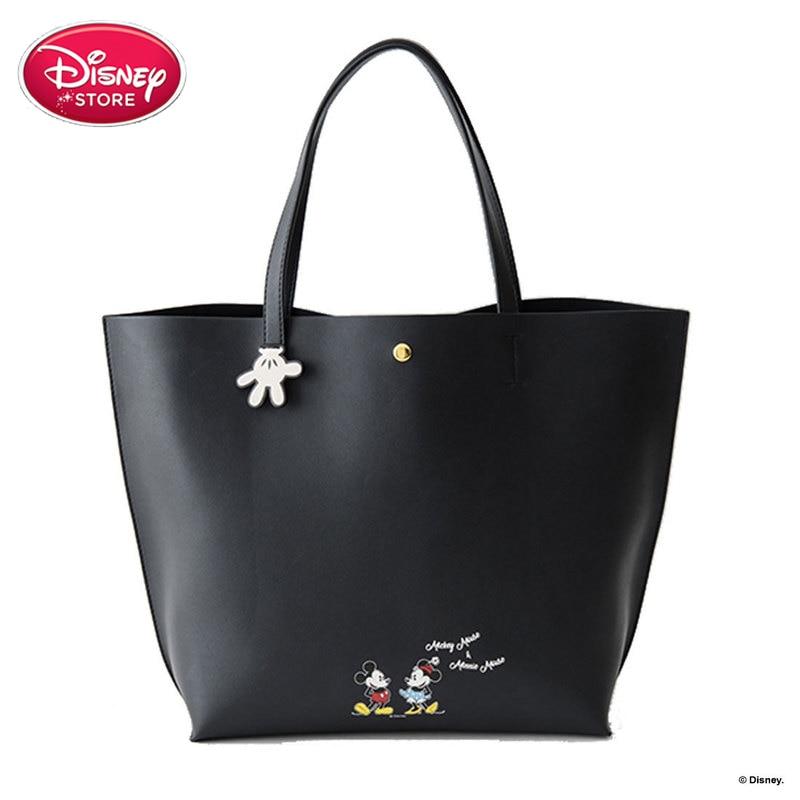 Genuine Disney Bags Multifunction Mummy Diaper Bag Fashion Shopping Baby Disney Mickey Minnie Mouse Handbag Stroller BagGenuine Disney Bags Multifunction Mummy Diaper Bag Fashion Shopping Baby Disney Mickey Minnie Mouse Handbag Stroller Bag