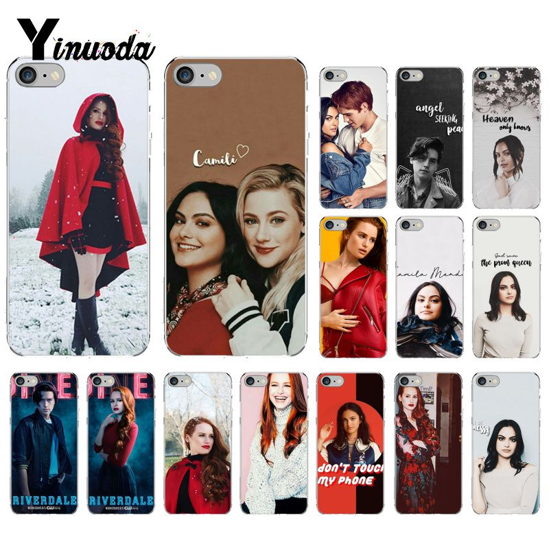 Yinuoda Archie Betty Jughead Jones Veronica <font><b>Riverdale</b></font> Painted Phone <font><b>Case</b></font> for <font><b>iPhone</b></font> 8 7 <font><b>6</b></font> 6S Plus X XS MAX 5 5S SE XR 10 <font><b>Cases</b></font> image