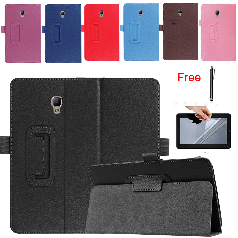 funda For samsung tab a sm-t380 case 8inch Leather tablets SM-T380 T385 2017 Smart folio Leather Case Cover tablet stand z70