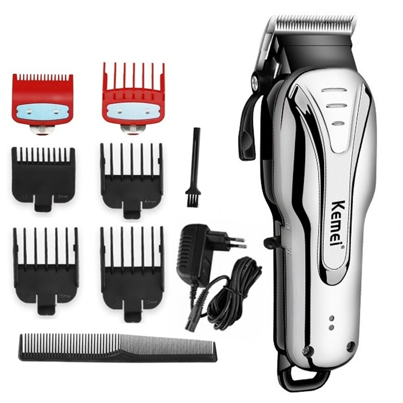 Corded cordless professional hair clipper electric hair trimmer for men rechargeable hair cutter haircut machine cutting barberHair Trimmers   -