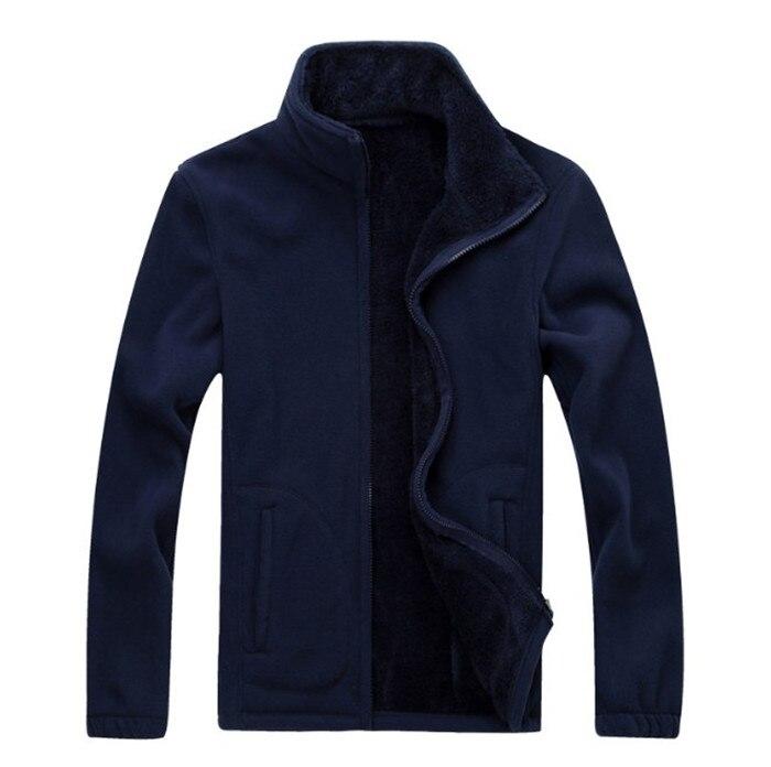Mens winter Plus velvet Fleece Top quality Sweater The New Thicken Fleece fashion Cardigan coat Mens coat 6XL 7XL 8XL