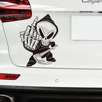 sticker motorcycle accessories New Arrival Car Sticker Cartoon Reflective Car Styling Sticker Motorcycle Car Decal Accessories 2082 (3)