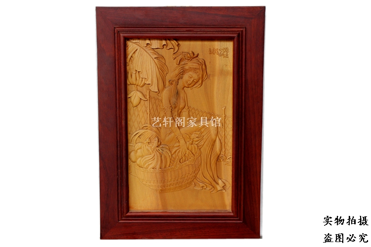 Dongyang woodcarving wall hanging pendant Ming classical relief sculptures hanging off screen screen hanging screen seat insertDongyang woodcarving wall hanging pendant Ming classical relief sculptures hanging off screen screen hanging screen seat insert