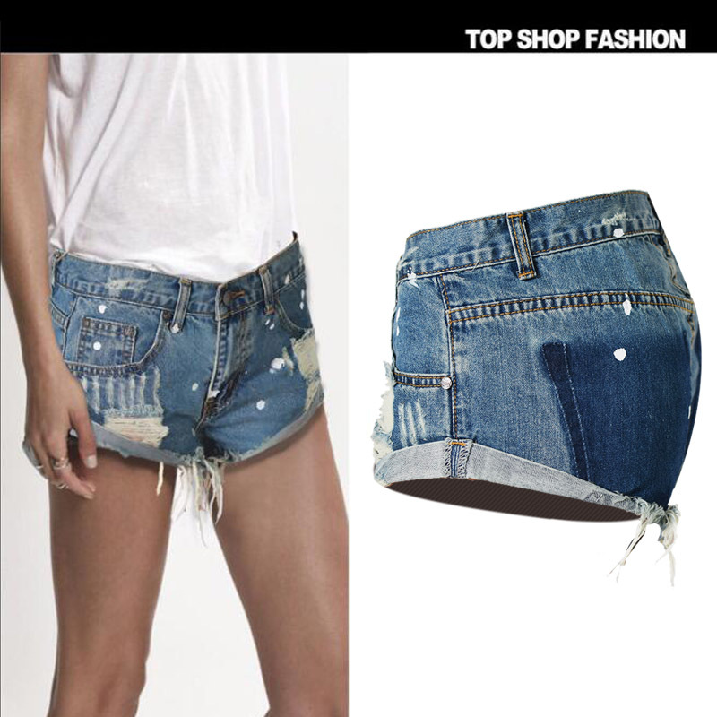 Azul Pantalones Moda Bermudas Las Ropa De Harajuku Para Coreana Denim Especial Verano 2018 Mujeres Jeans Mujer Hotpants wxxpnqza1