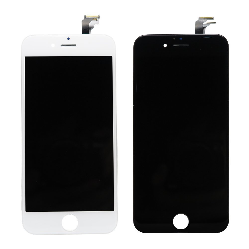 Replacement for Iphone 6 LCD Display Screen Part with Touch Digitizer Assembly  Black and White 4.7inch 100% Good Quliay-in Mobile Phone LCDs from  Cellphones ... 1103081a02