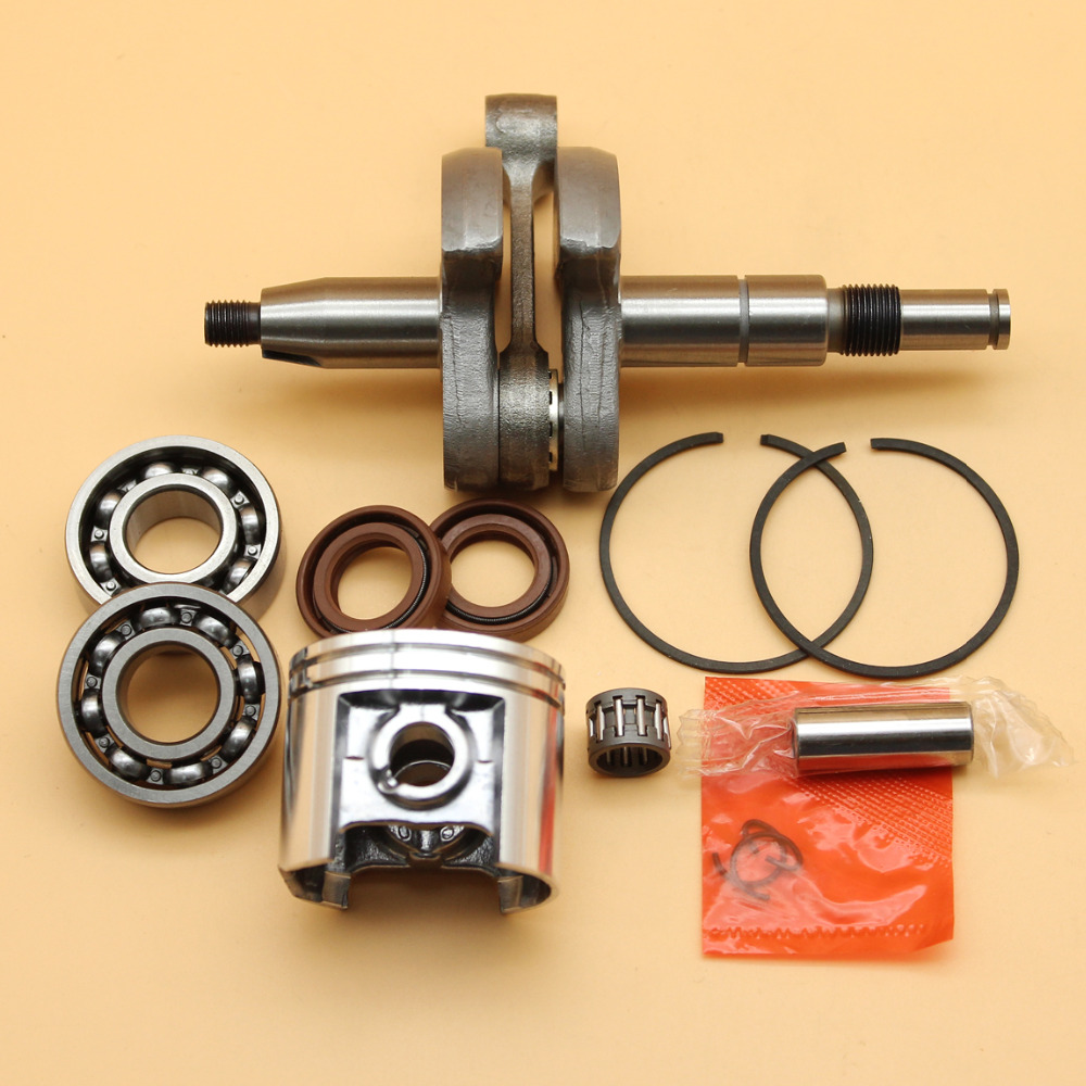 Crankshaft Crank Bearing Oil Seals & 42.5mm Piston Rings Kit Fit STIHL MS250 MS230 MS 250 230 025 023 Chainsaw Engine Parts 5pcs chainsaw switch parts throttle trigger fit stihl 021 023 025 ms210 ms230 ms250 replaces 1128 182 1005