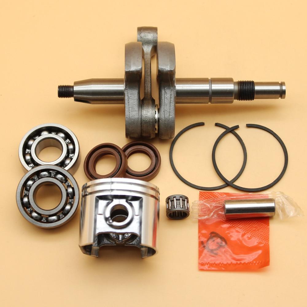 Crankshaft Crank Bearing Oil Seals  amp  42 5mm Piston Rings Kit Fit STIHL MS250 MS230 MS 250 230 025 023 Chainsaw Engine Parts