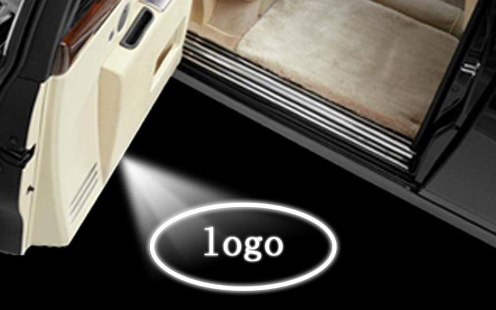 Car Door 5thGen LED Projector Welcome Logo Ghost Shadow Light for Mini Cooper