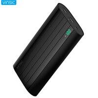 Vinsic 20000 мАч высокая скорость преобразования Мощность банка для iPhone 7 8 мобильных телефонов 20000 мАч Перезаряжаемые быстрой зарядки мобильного...