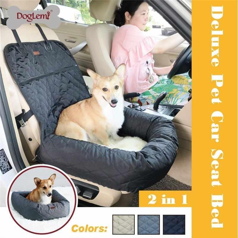 Pet Dog Carrier Folding Car Seat Pad Safe Carry House Puppy Bag Car Travel  Accessories Waterproof Dog Seat Bag Basket