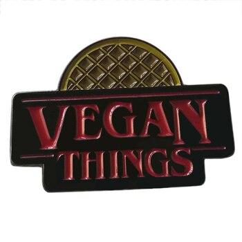 Веганские веганские значки