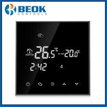 Termostato de calefacción con pantalla táctil, termorregulador de TGT70 EP para suelo cálido, termostato de sistema de calefacción eléctrica