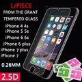 9 h cristal protector para iphone 6 plus & 4 & 4 s & 5 & 5 s & 6 & 6 s y 7 plus screen film protector de vidrio templado en el para el iphone 7 accesorios