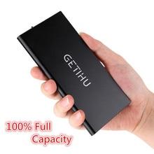 100{e3d350071c40193912450e1a13ff03f7642a6c64c69061e3737cf155110b056f} Original de la Marca GETIHU Inteligente Puerto Dual USB Banco de la Energía Del Teléfono Móvil fuente para iphone 6 6 s plus samsung s6 s7 xiaomi mi pad