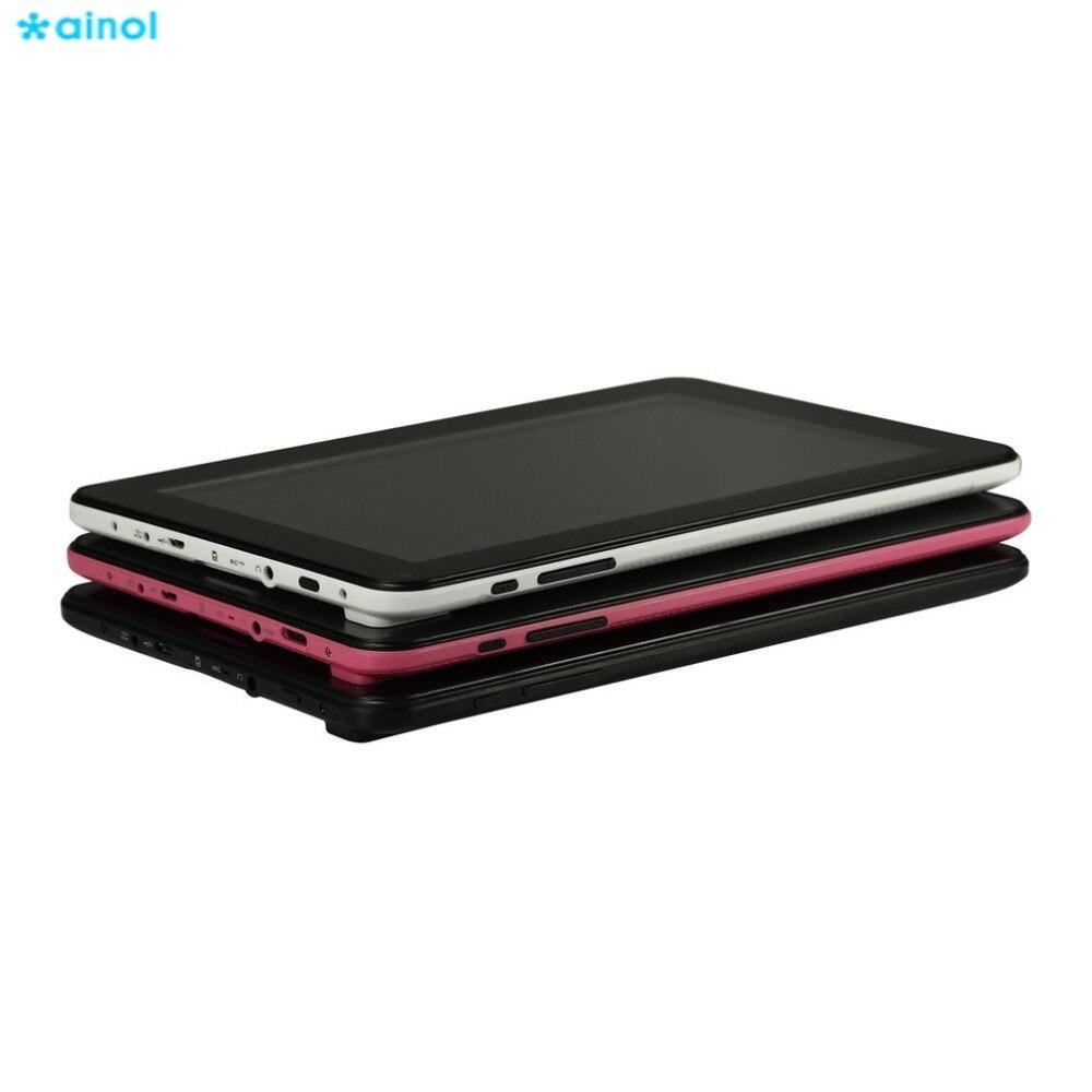 Ainol 9 Inch Capacitive Screen WIFI Tablets A33 512+8G 800x480 Pad Front Rear 0.3MP Camera Tablet Computer US/EU/UK Plug