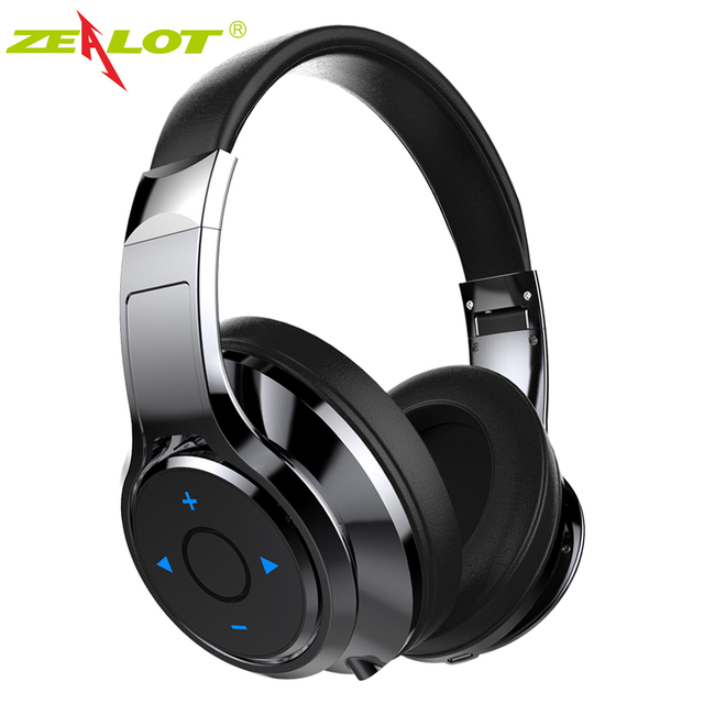 Zealot B22 Bluetooth Headphone Foldable Stereo Headset Wireless Bass Earphone with Microphone for iPhone Android mobile phones