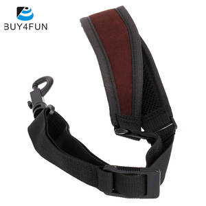 Padded Saxophone-Accessories Neck-Strap with Hook Clasp Adjustable Light-Weight Cotton