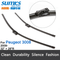 "Wiper blades for Peugeot 3008 (From 2009 onwards) 32""+28"" R fit push button type wiper arms only HY-011"