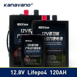 12 V LiFePo4 batterij lithium-ijzerfosfaat batterij 12.8 V 40ah 70ah 120ah Accu met BMS Board 500A Voor UPS + 14.6 v 6A
