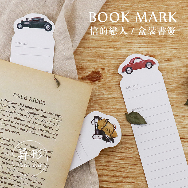 Автомобильная Закладка для книг в стиле ретро, 30 дюймов