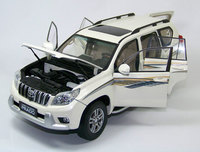Brand New 1/18 Scale Car Model Toys JAPAN TOYOTA PRADO VX SUV Diecast Metal Car Model Toy For Gift/Collection/Decoration