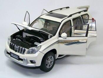 Marka Yeni 118 ölçekli Araba Modeli Oyuncaklar Japonya Toyota Prado