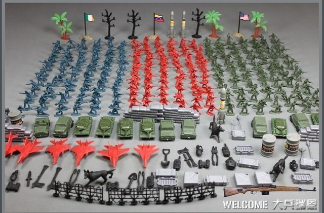 284pcs lot world war ii toy soldiers figures gi joe german army classic toys christmas