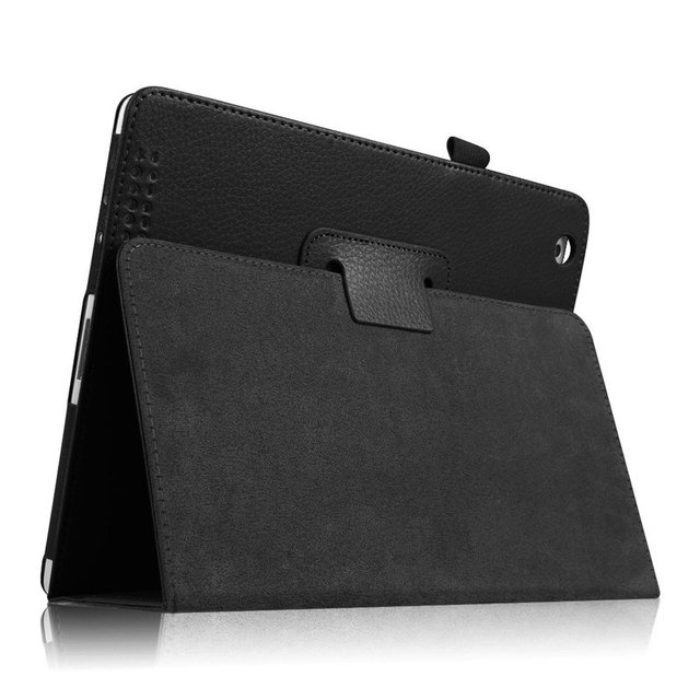Para iPad 2/3/4 Funda Folio Flip PU Funda de cuero para Funda iPad 2/3/ 4 fundas de soporte para lápices Slim Fit Tablet A1395 A1396 A1430