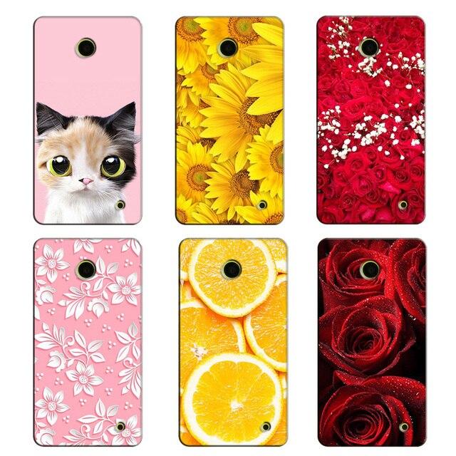 new arrival 2e0f7 dec70 US $3.54 29% OFF|Pretty Girl Hard PC Phone Cases for Nokia Lumia 630  Smartphone Protective UV Printed Case Cover for Nokia Lumia 630 635 636-in  ...