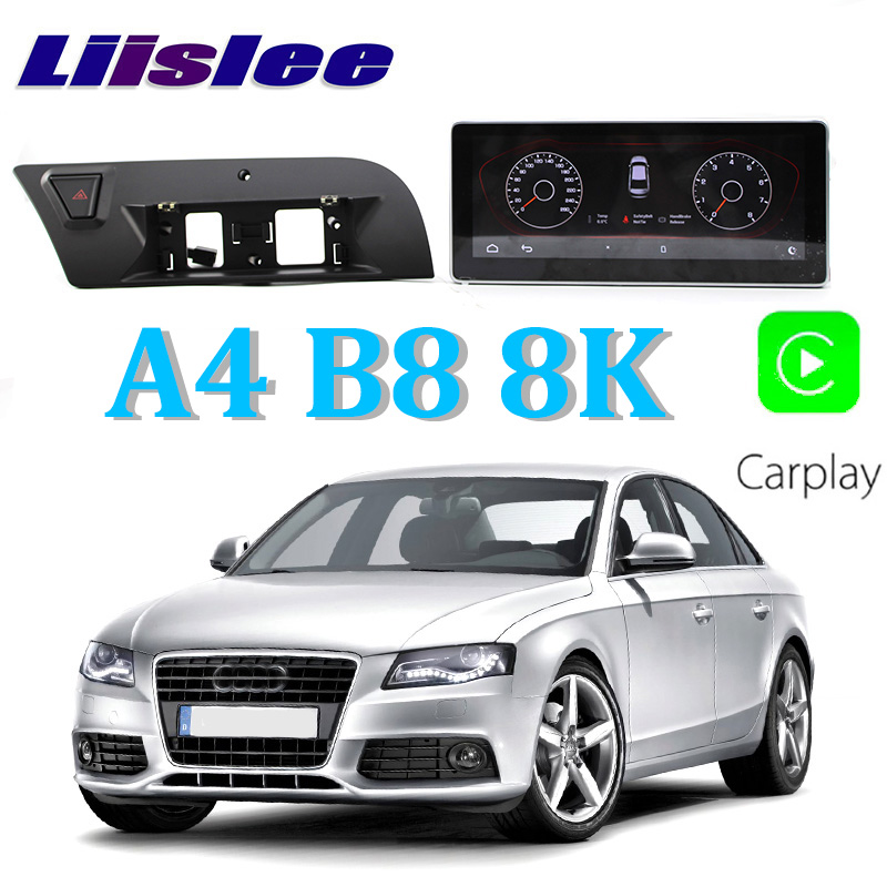 Liislee Car Multimedia Player NAVI 10.25 inch For Audi A4 B8 8K 2009~2016 Original Car MMI Style Radio Stereo GPS Navigation