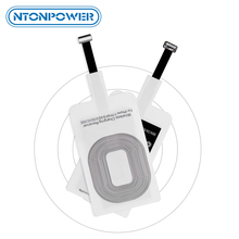 NTONPOWER Wireless Charging Connector For iPhone 7 6 6s 5 Micro USB Type C Universal Qi Charger Adapter Receiver