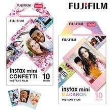 Bộ Máy Chụp Ảnh Lấy Ngay Fujifilm Instax Mini Bộ Phim Confetti + Rằn Ri Nâu Đất Instax Mini 9 Phim Màu 20 Chiếc Cho Fuji Ngay Mini 8 9 7S 70 90 Camera SP 1