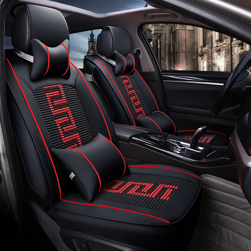che ai ren front car seat covers car seat cover universal fit most auto interior decoration. Black Bedroom Furniture Sets. Home Design Ideas