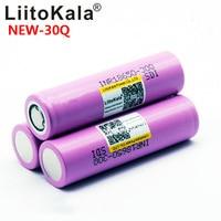 Image 2 - 8PCS חדש LiitoKala 100% מקורי INR 18650 סוללה 3.7V 3000mAh INR18650 30Q ליתיום נטענת סוללות