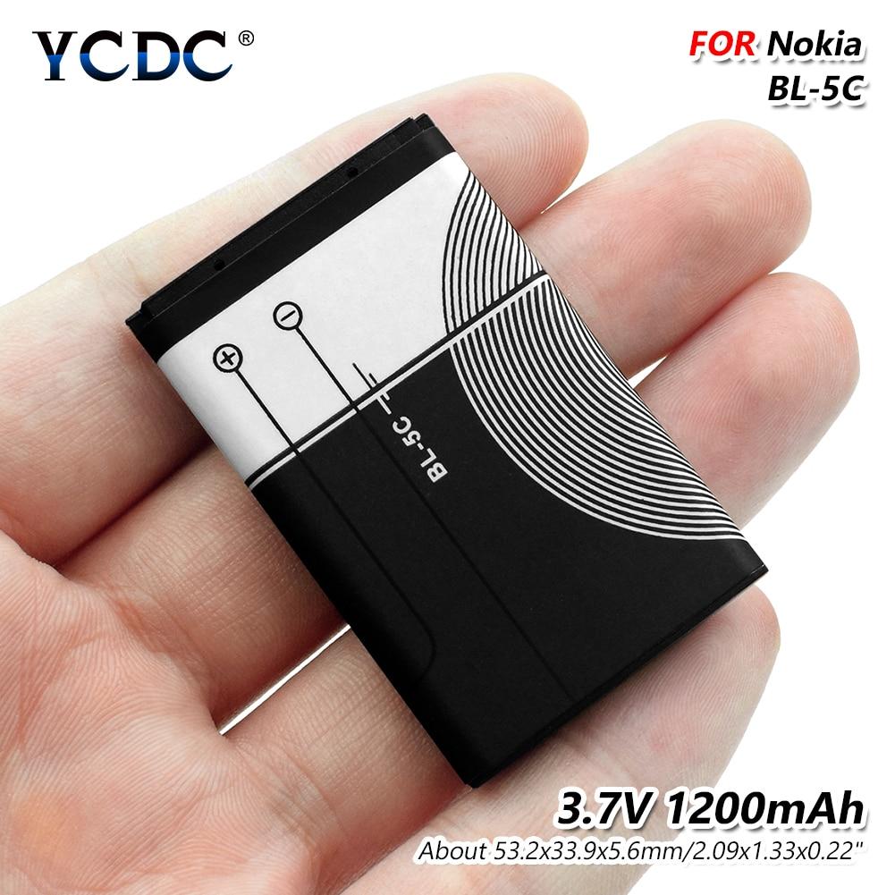 1000 1010 buy ycdc 3.7v 1200mah bl-5c li-ion battery for nokia 1000