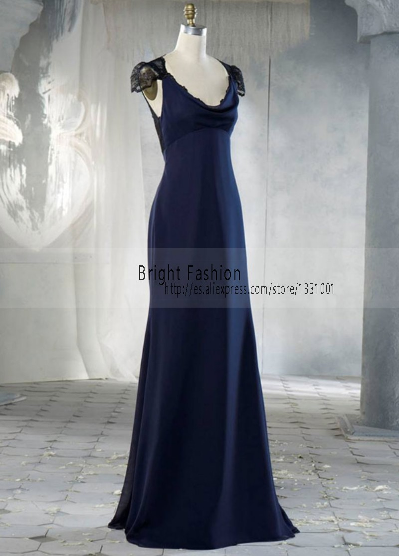 Dusty Blue Bridesmaid Dresses 2015 New Short Sleeve Bridesmaids ...