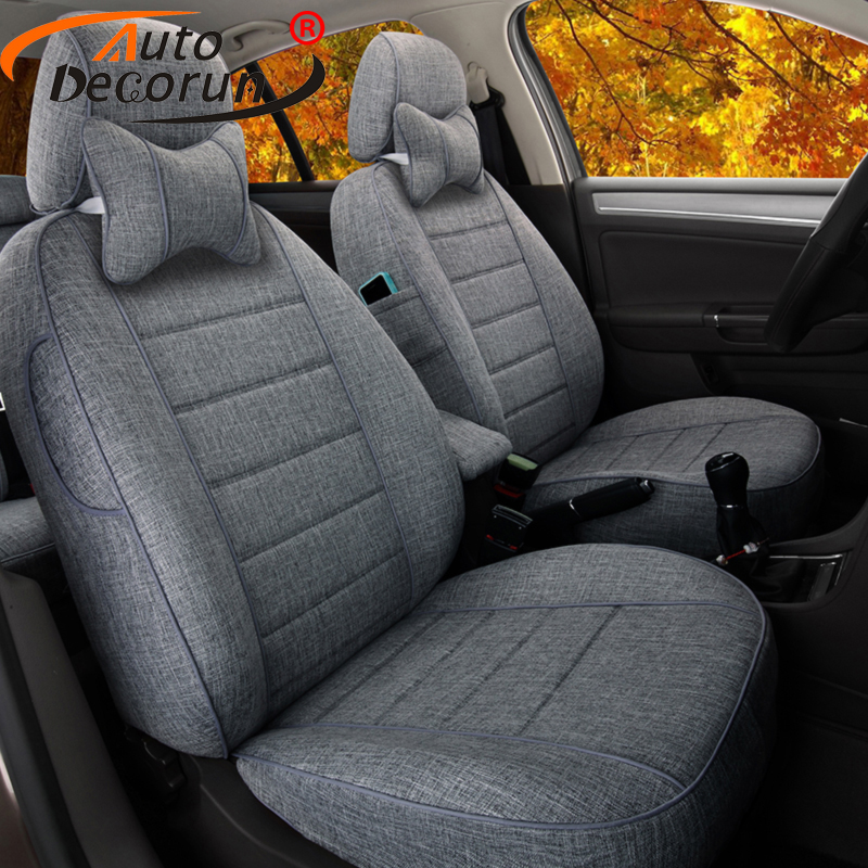 AutoDecorun Dedicated Seat Cushion for Volkswagen Alltrack Passat B8 Variant Car Seat Covers Supports Seats Protectors 15PCS/set