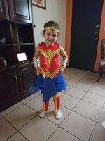 Wonder Woman Cosplay Halloween Superhero Girls Costume Deluxe Child Dawn Of Justice Princess Diana Fancy Dress