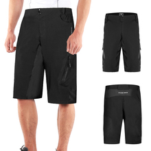 Men Loose Fit Cycling Shorts MTB Bike Outdoor Sports Running Fitness Casual Summer Clothing